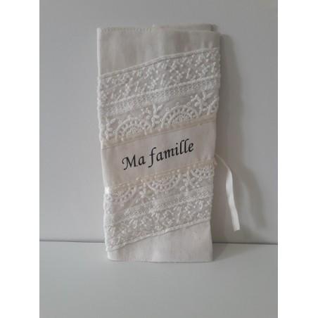 Le  Livret de Famille Personnalisable Artisanale !