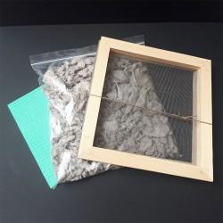 Tamis et boîte de fournitures du Kit papier